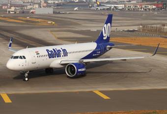 VT-WGW - Go Air Airbus A320