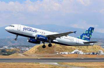 N571JB - JetBlue Airways Airbus A320