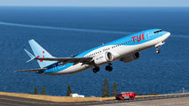 OO-MAX - TUI Airlines Belgium Boeing 737-8 MAX aircraft