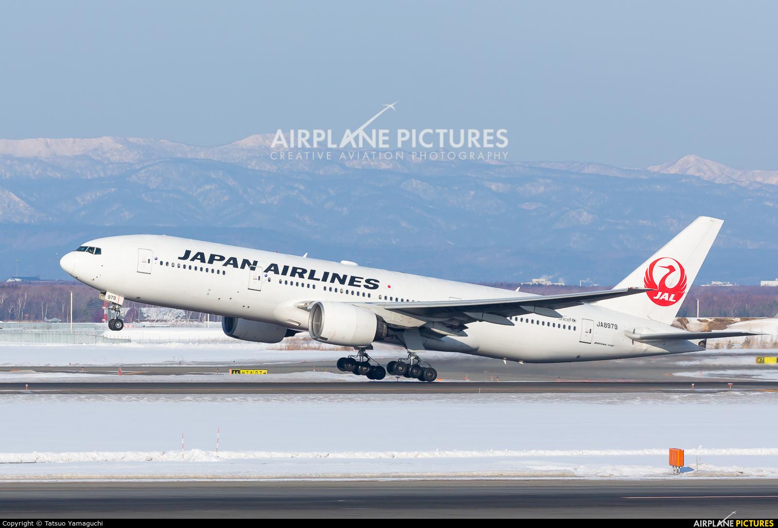 JAL - Japan Airlines JA8979 aircraft at New Chitose