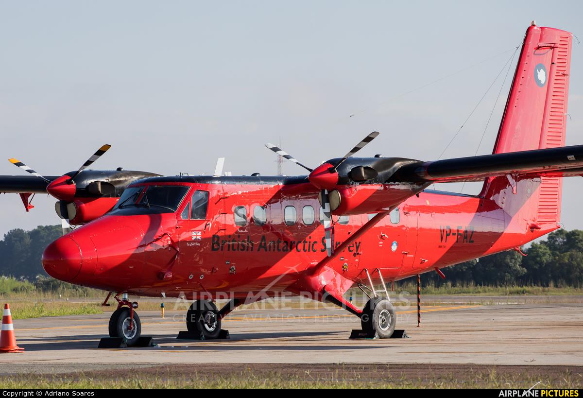 British Antarctic Survey VP-FAZ aircraft at Curitiba -  Afonso Pena