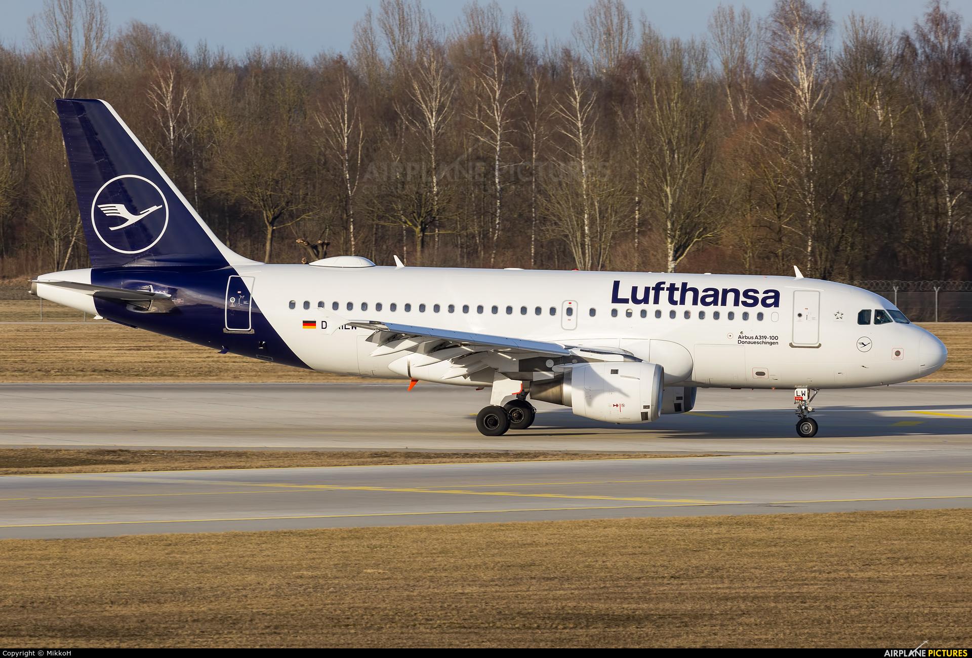 Lufthansa D-AILW aircraft at Munich