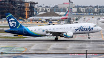 N626VA - Alaska Airlines Airbus A320 aircraft