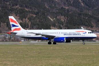 G-EUUT - British Airways Airbus A320