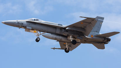 C.15-27 - Spain - Air Force McDonnell Douglas F/A-18A Hornet