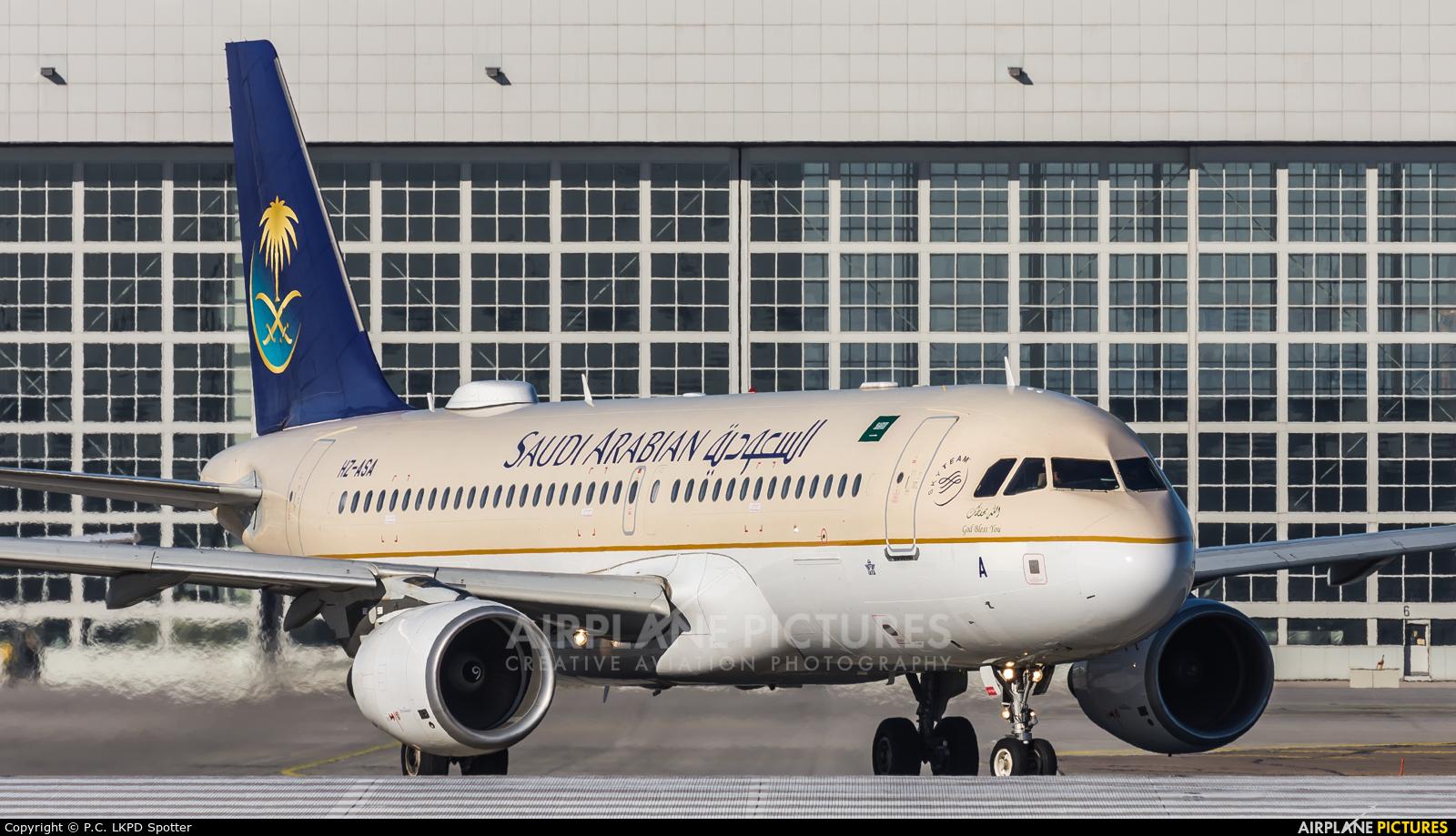 Saudi Arabian Airlines HZ-ASA aircraft at Munich
