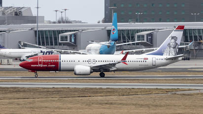 EI-FYH - Norwegian Air Shuttle Boeing 737-8 MAX