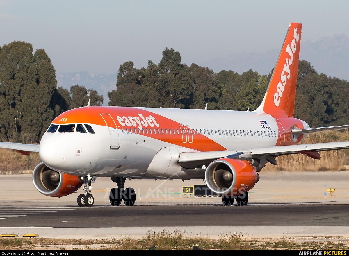 easyJet OE-IJU aircraft at Barcelona - El Prat