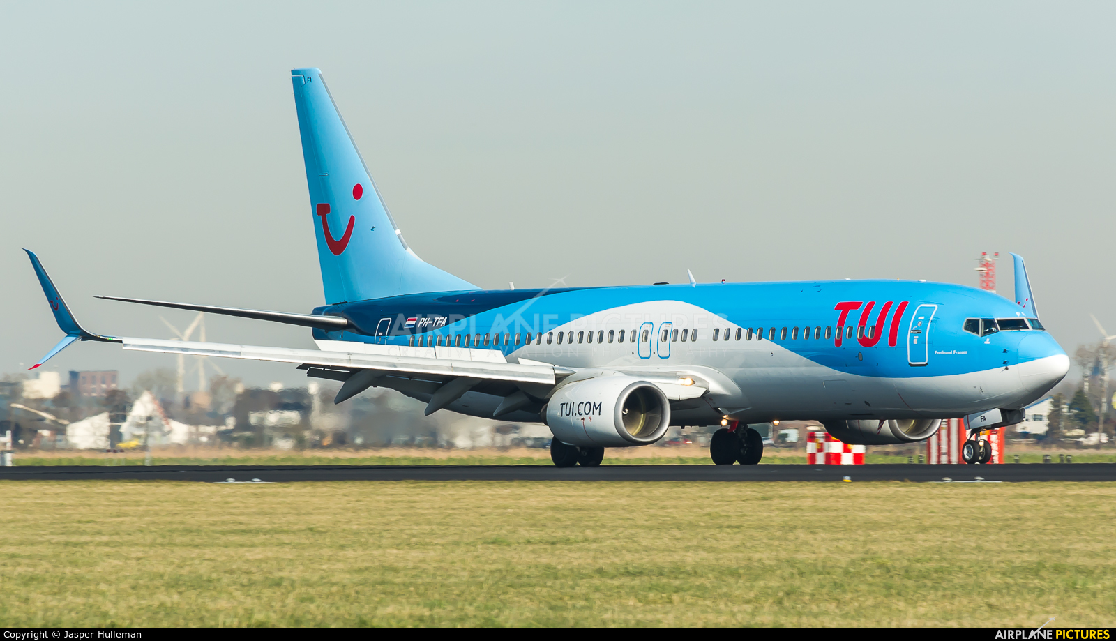 TUI Airlines Netherlands PH-TFA aircraft at Amsterdam - Schiphol