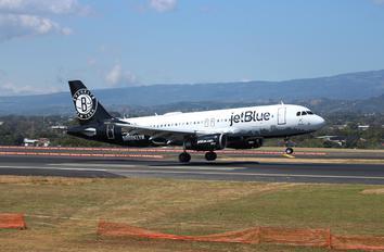 N633JB - JetBlue Airways Airbus A320