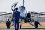 - - Japan - ASDF: Blue Impulse Kawasaki T-4 aircraft