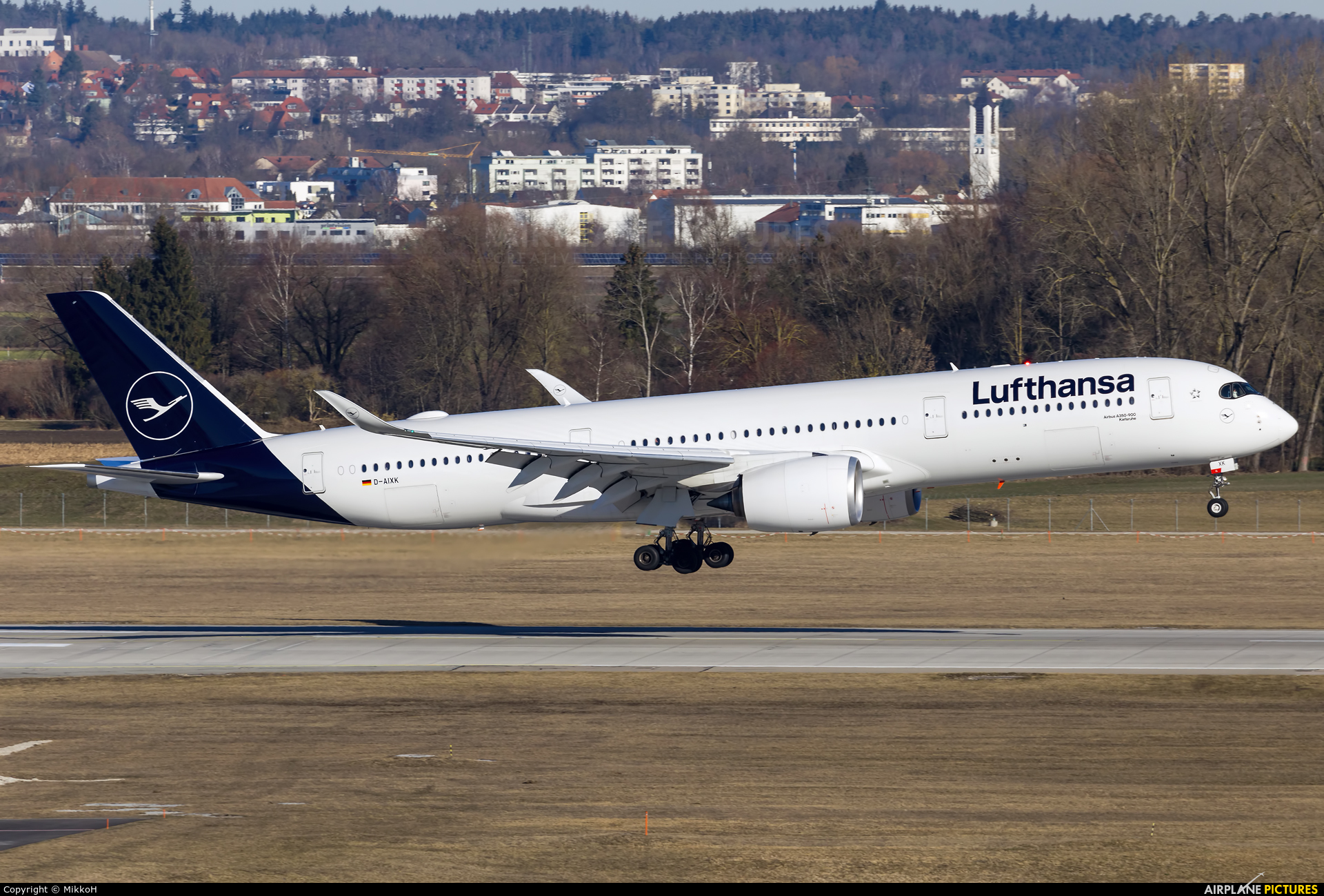 Lufthansa D-AIXK aircraft at Munich
