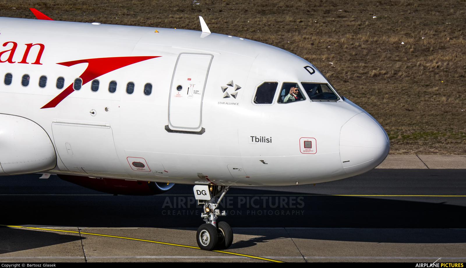 Austrian Airlines/Arrows/Tyrolean OE-LDG aircraft at Berlin - Tegel