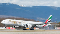 A6-EQH - Emirates Airlines Boeing 777-31H(ER) aircraft