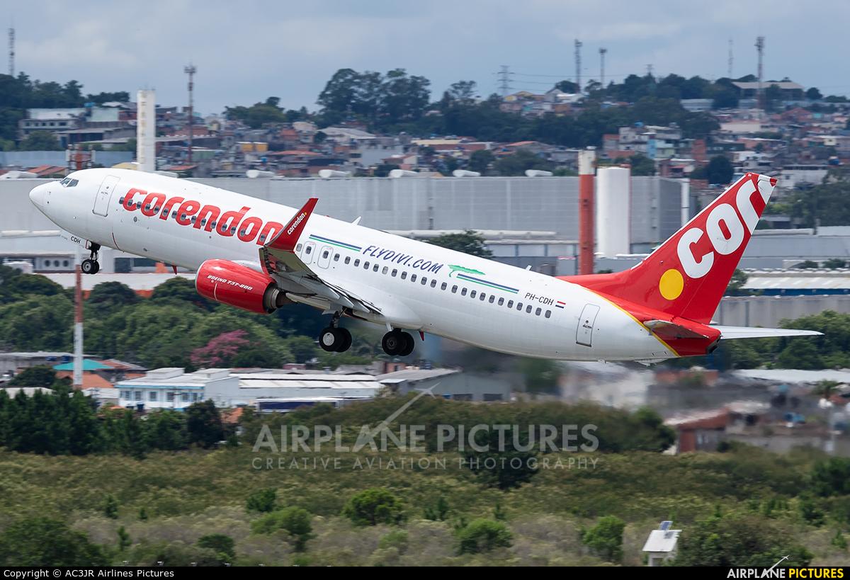 Corendon Dutch Airlines PH-CDH aircraft at São Paulo - Guarulhos