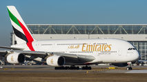 A6-EDX - Emirates Airlines Airbus A380 aircraft