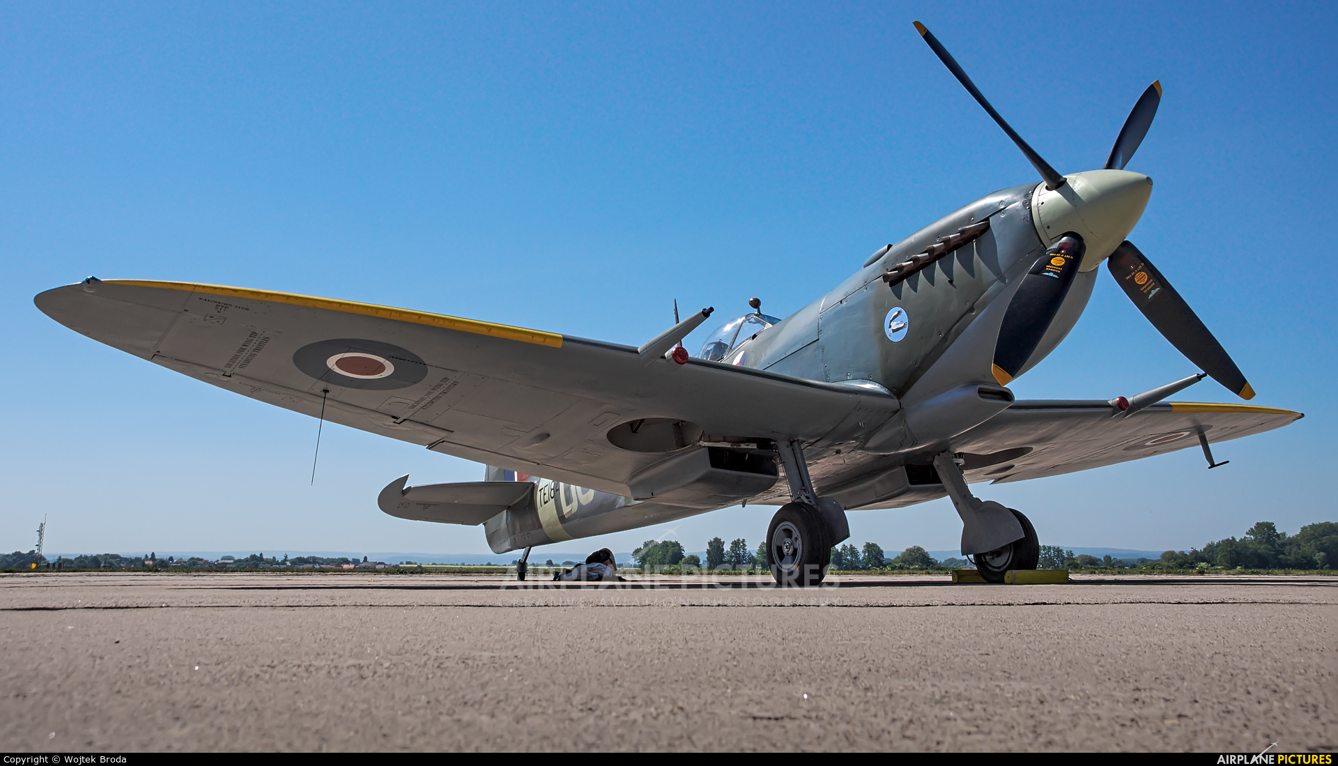 Private TE184 aircraft at Pardubice