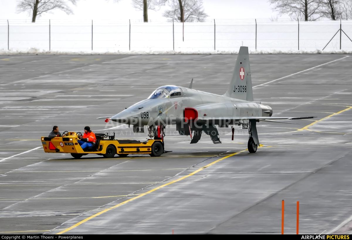 Switzerland - Air Force J-3098 aircraft at Meiringen