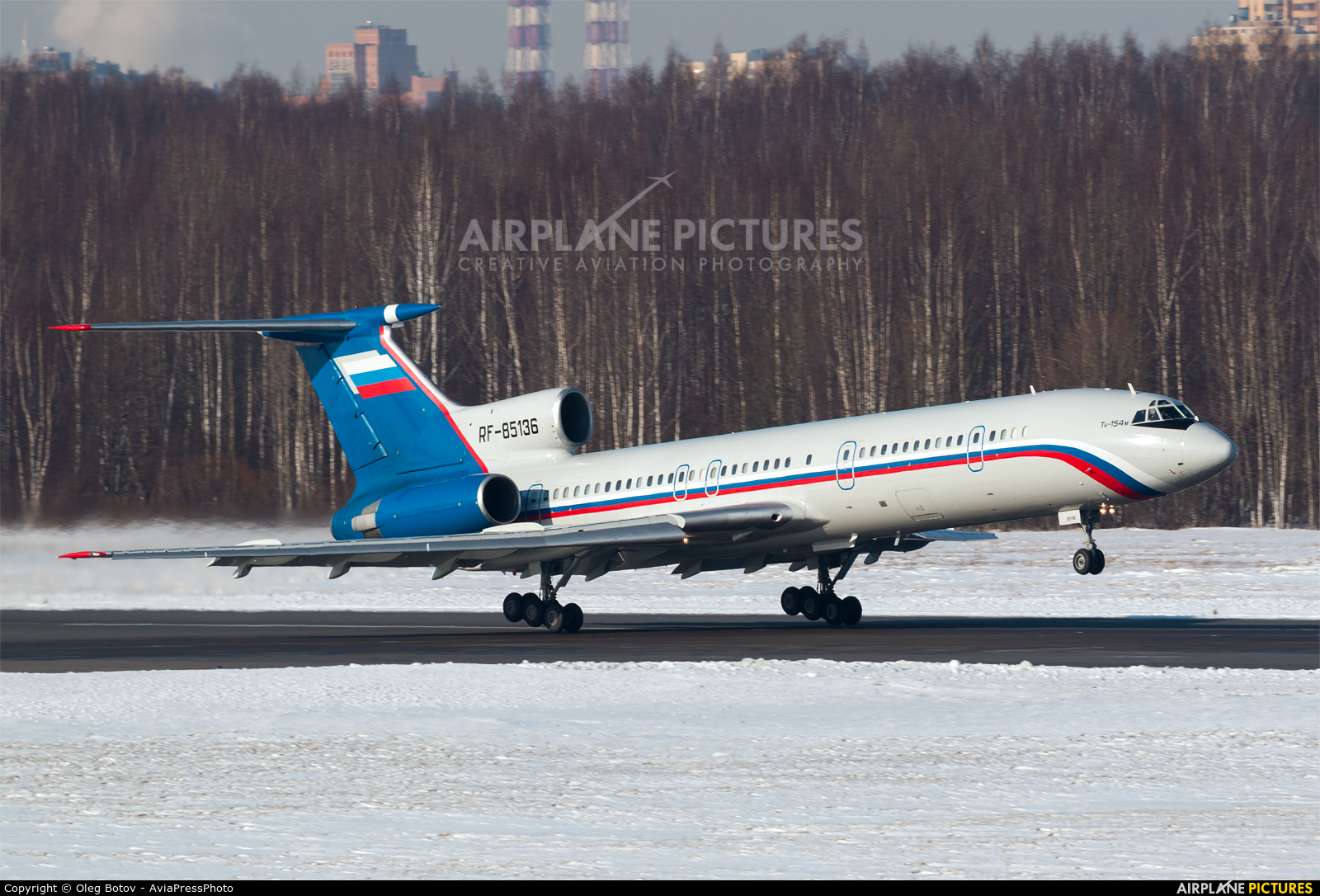 Russia - Ministry of Internal Affairs RF-85136 aircraft at St. Petersburg - Pulkovo