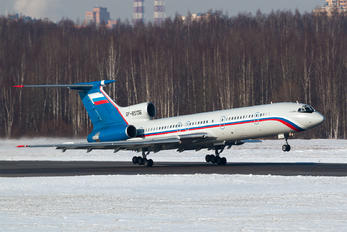RF-85136 - Russia - Ministry of Internal Affairs Tupolev Tu-154