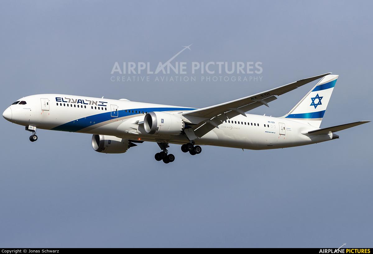 El Al Israel Airlines 4X-EDI aircraft at Berlin - Schönefeld