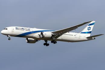 4X-EDI - El Al Israel Airlines Boeing 787-9 Dreamliner