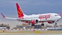 VT-MXK - SpiceJet Boeing 737-8 MAX aircraft