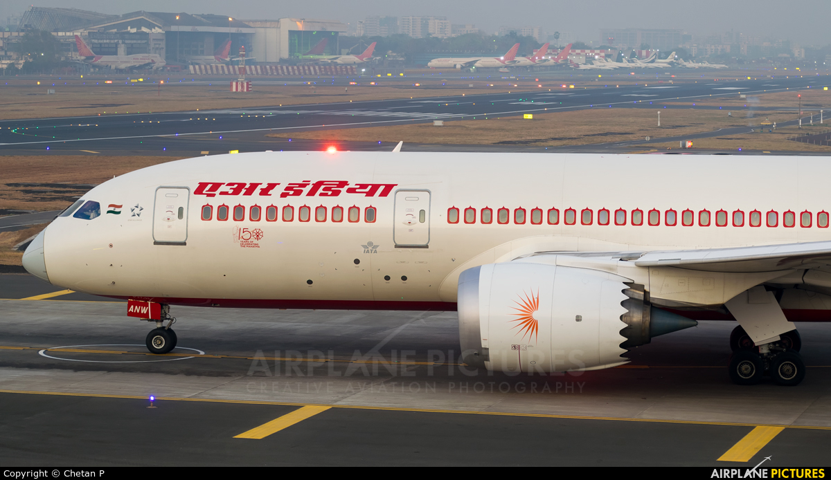 Air India VT-ANW aircraft at Mumbai - Chhatrapati Shivaji Intl