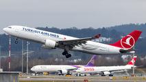 TC-JIS - Turkish Airlines Airbus A330-200 aircraft