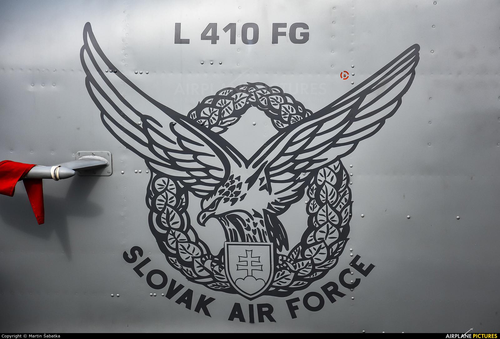 Slovakia -  Air Force 1521 aircraft at Sliač