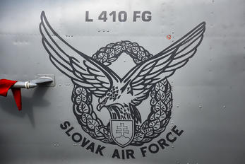 1521 - Slovakia -  Air Force LET L-410FG Turbolet