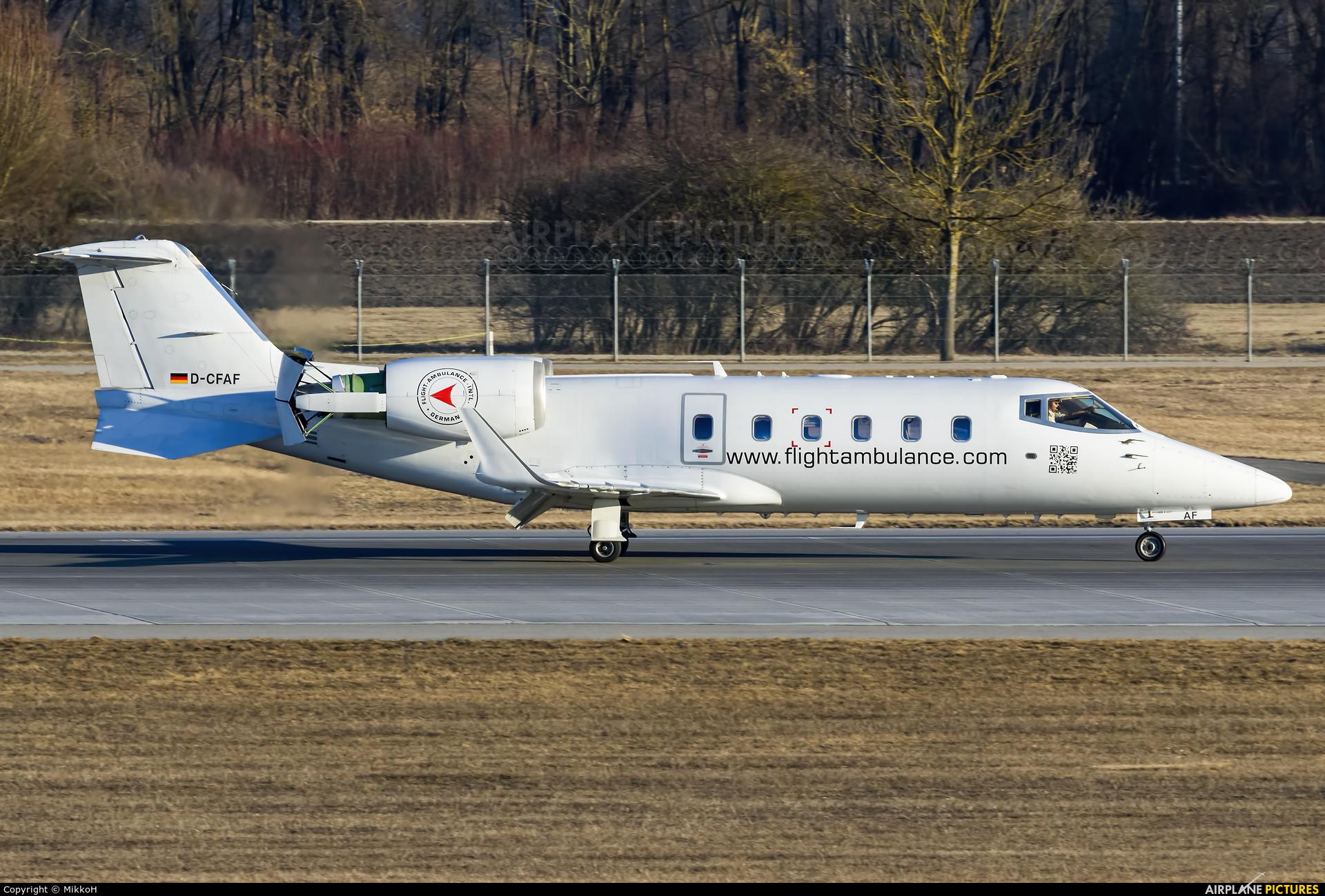 Flight Ambulance D-CFAF aircraft at Munich