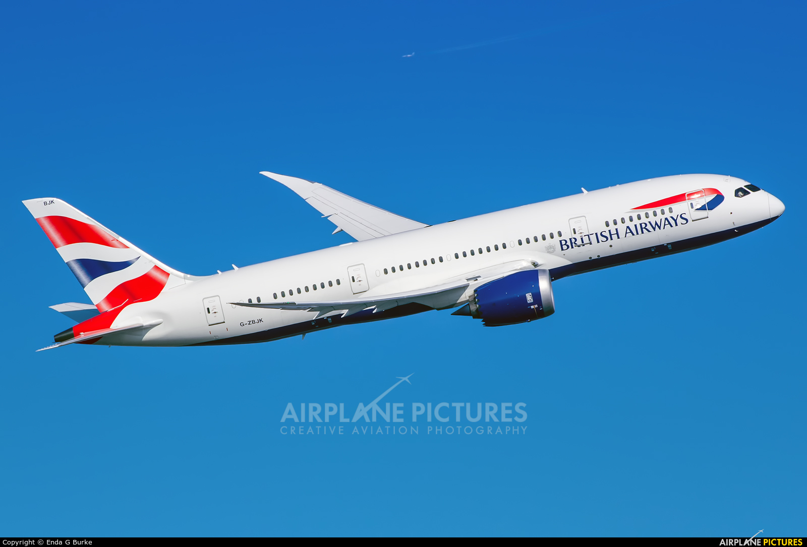 British Airways G-ZBJK aircraft at London - Heathrow