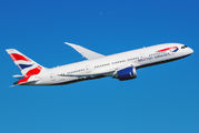 G-ZBJK - British Airways Boeing 787-8 Dreamliner aircraft