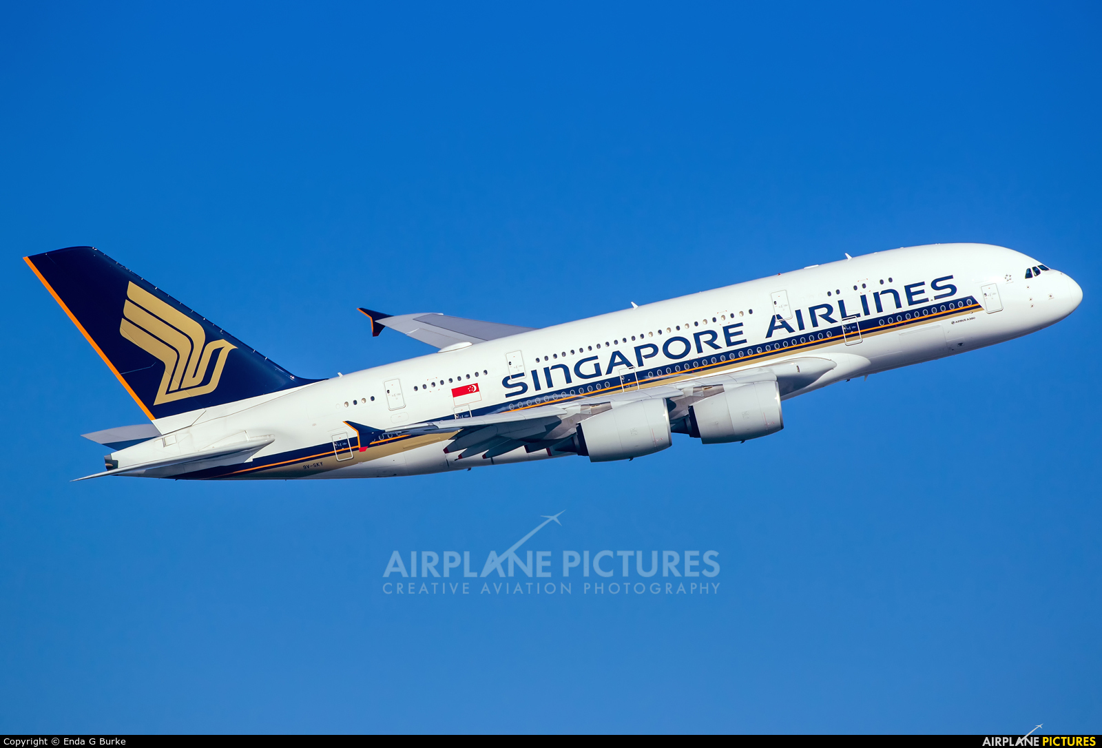 Singapore Airlines 9V-SKY aircraft at London - Heathrow