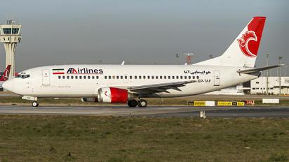 EP-TAF - ATA Airlines Iran Boeing 737-300