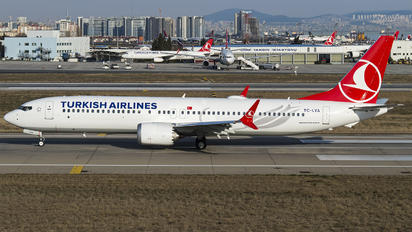 TC-LYA - Turkish Airlines Boeing 737-9 MAX