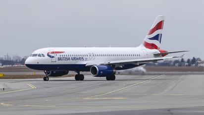 G-EUUI - British Airways Airbus A320