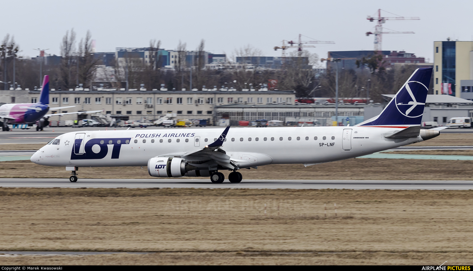 LOT - Polish Airlines SP-LNF aircraft at Warsaw - Frederic Chopin