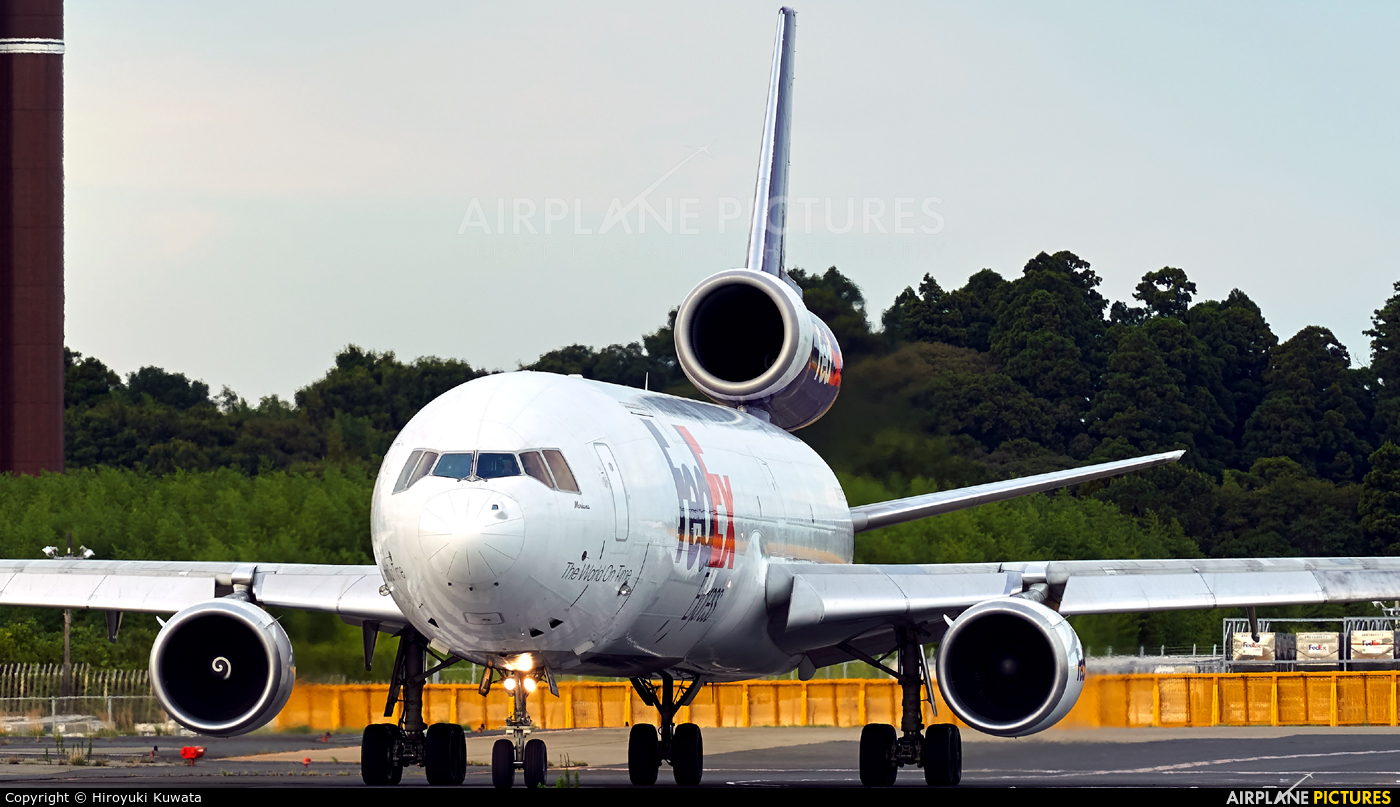 FedEx Federal Express N599FE aircraft at Tokyo - Narita Intl
