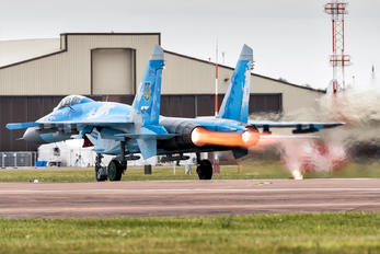 58 BLUE - Ukraine - Air Force Sukhoi Su-27