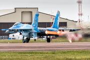 58 BLUE - Ukraine - Air Force Sukhoi Su-27 aircraft