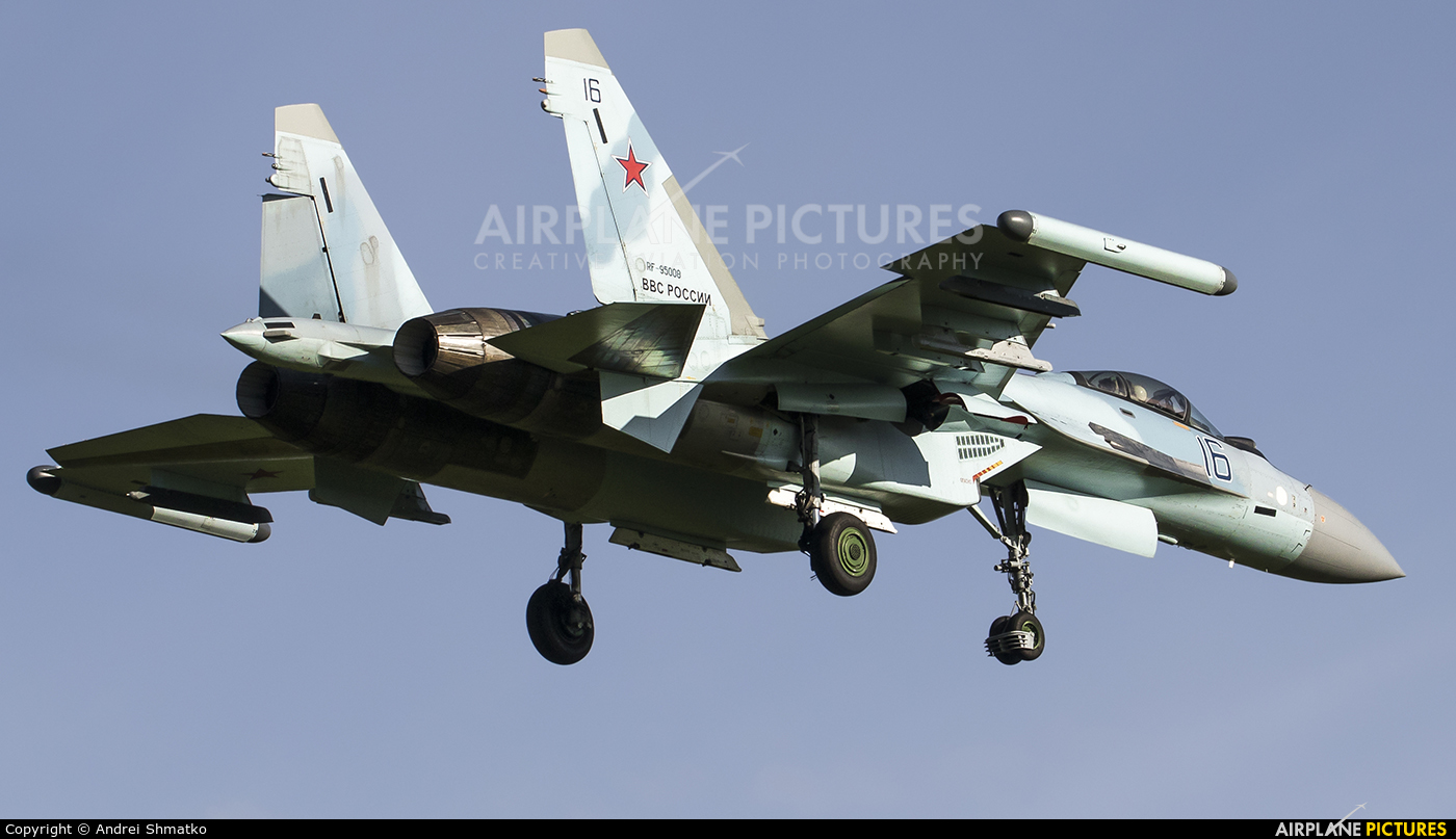 Russia - Air Force RF-95008 aircraft at Undisclosed Location