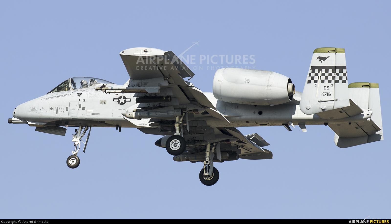 USA - Air Force 78-0716 aircraft at Osan AB