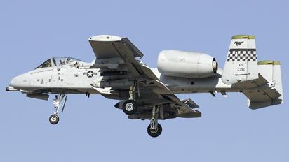 78-0716 - USA - Air Force Fairchild A-10 Thunderbolt II (all models)