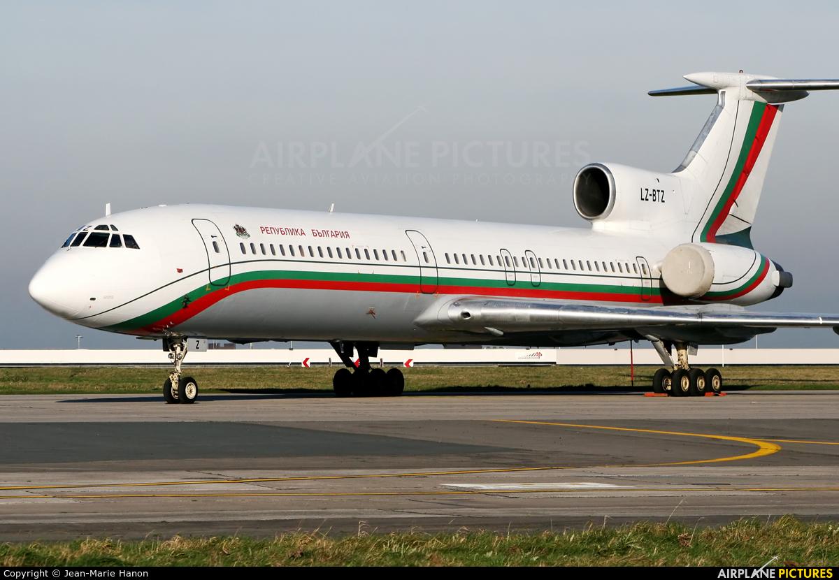 Bulgaria - Government LZ-BTZ aircraft at Brussels - Zaventem