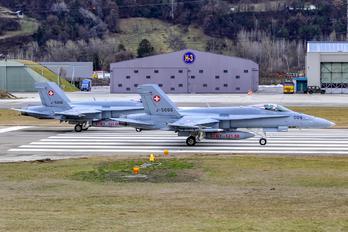 J-5006 - Switzerland - Air Force McDonnell Douglas F/A-18C Hornet