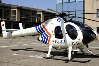 G-15 - Belgium - Police MD Helicopters MD-520N