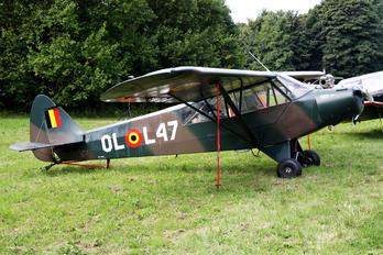 OO-SPG - Private Piper PA-18 Super Cub