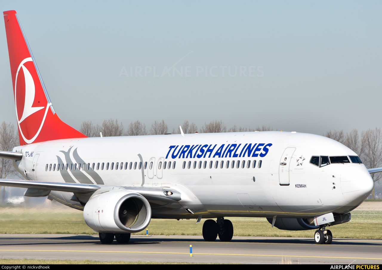 Turkish Airlines TC-JHL aircraft at Amsterdam - Schiphol